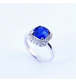 Srebrny pierścionek z antykwą (N-359)