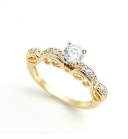 Złoty pierścionek (PB-265)