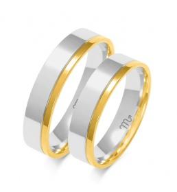 Złote obrączki wzór OE-246