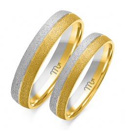 Złote obrączki wzór OE-183