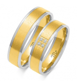 Złote obrączki wzór OE-170