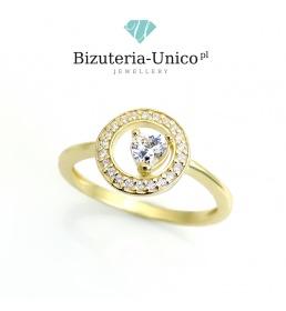 Złoty pierścionek (P-1901)