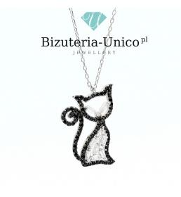 Srebrny naszyjnik - kotek
