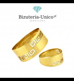 Złoty pierścionek pr. 585 (PI 3353)