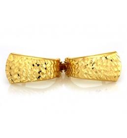 Damskie kolczyki z żółtego złota pr. 585