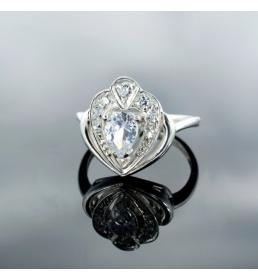 Srebrny pierścionek (N-280)
